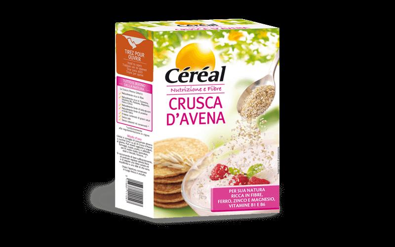 Crusca d'avena Nutrizione e fibre su cereal.it