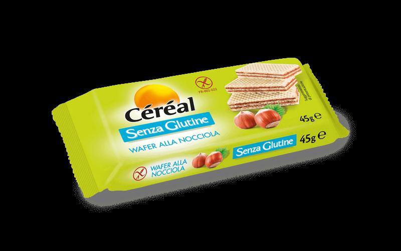 Wafer alla nocciola Dolci Senza Glutine su cereal.it