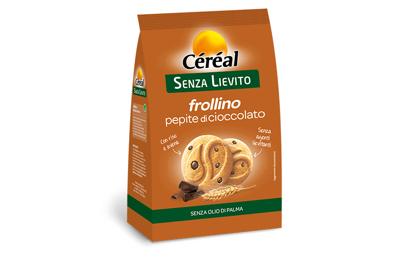 Frollini Pepite al cioccolato Senza Lievito su cereal.it