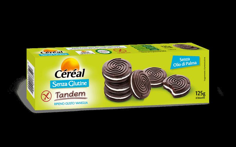 Tandem Cacao e Vaniglia Dolci Senza Glutine su cereal.it