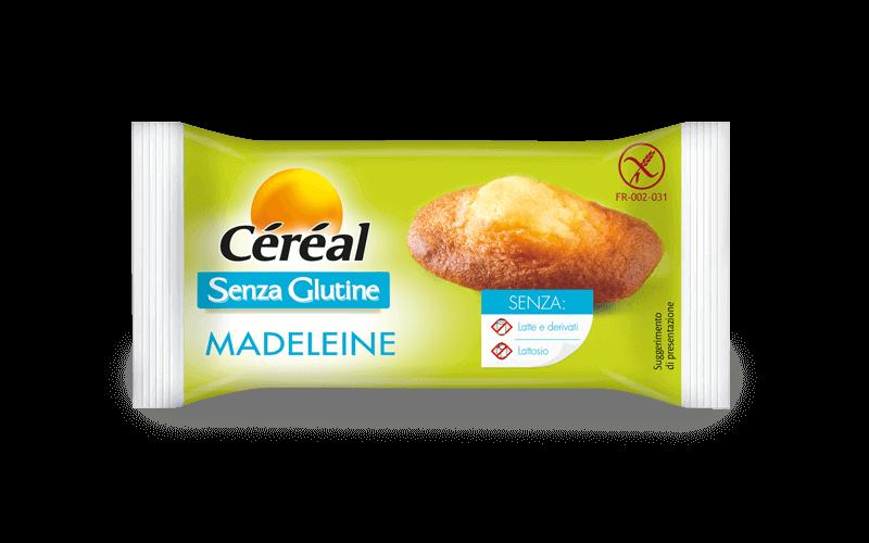 Medeleine Monoporzione Dolci Senza Glutine su cereal.it