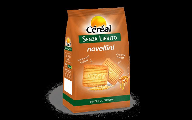 Novellini con latte e miele Senza Lievito su cereal.it