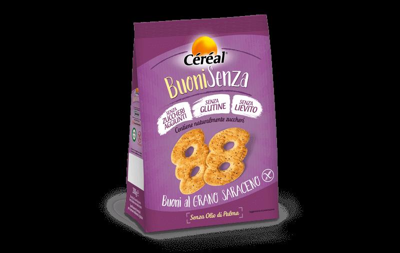 Biscotti Buoni al grano saraceno Buoni Senza su cereal.it
