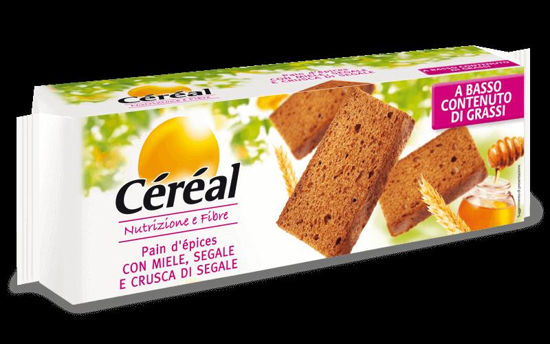 Pain d'epices Nutrizione e Fibre su cereal.it