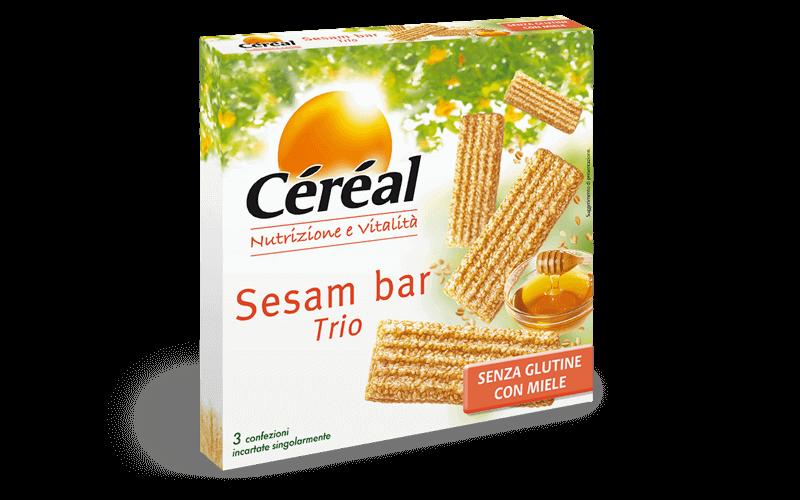 Sesam bar trio Nutrizione e vitalità su cereal.it
