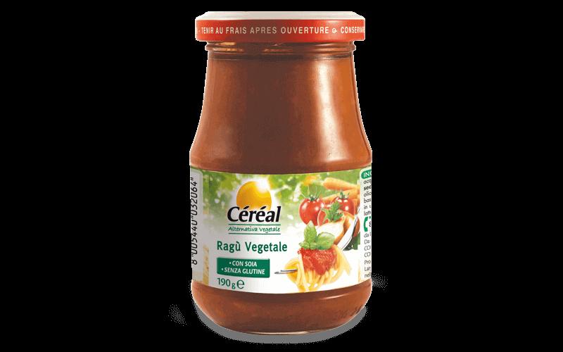 Ragu vegetale Alternativa Vegetale su cereal.it