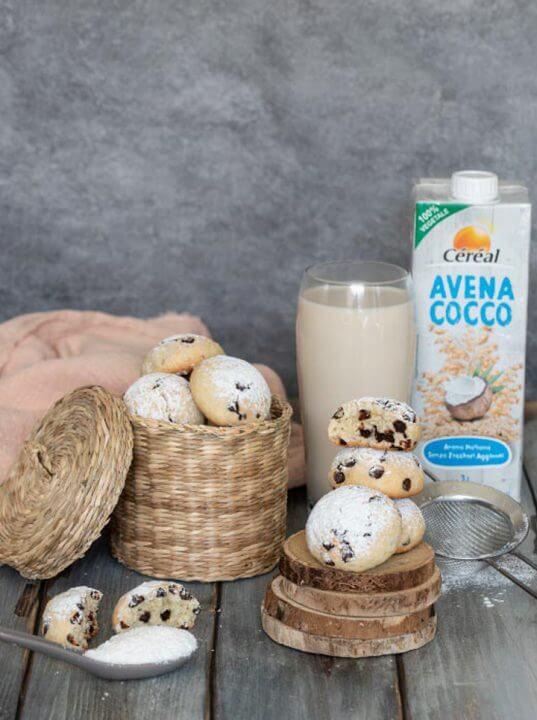 Biscotti con Avena Cocco drink Senza Lattosio Céréal