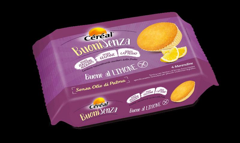 Merendine buone al limone Buoni Senza su cereal.it