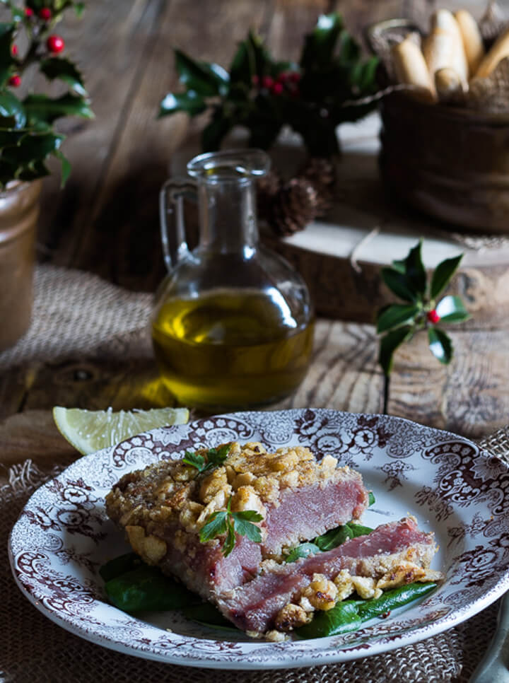 Filetti di tonno in crosta di Mini Grissini Senza Glutine Céréal
