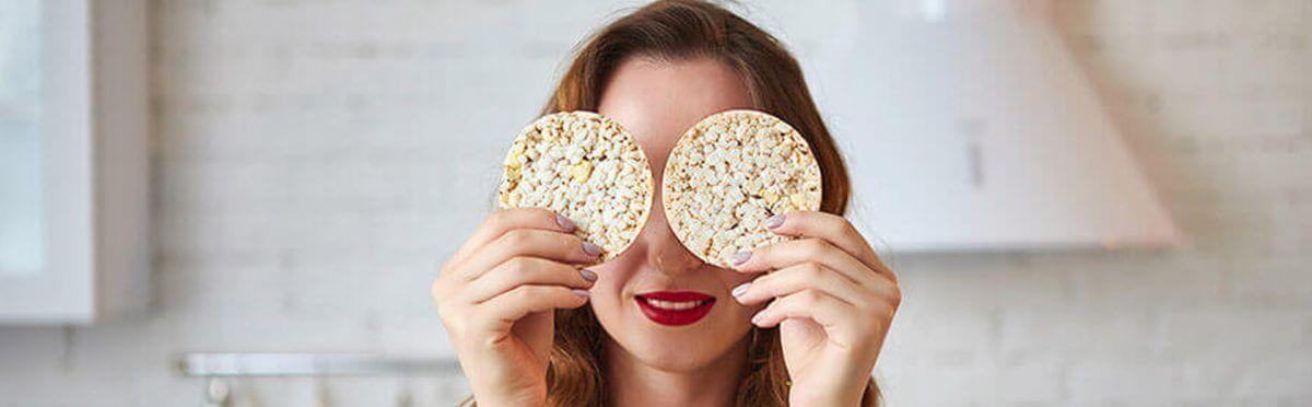 Gallette di Mais, Riso e Semi Integrali Céréal Senza Glutine … uno snack croccante e leggero