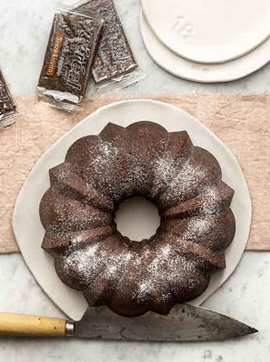 Pandolce di Pane di Segale Céréal Senza Lievito al Cioccolato