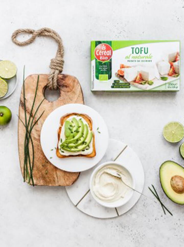 Toast all Avocado & Crema al tofu