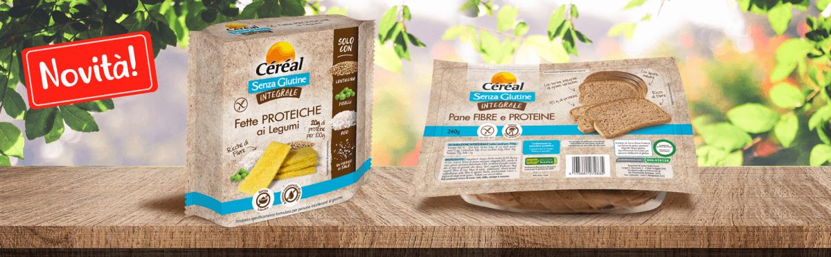 Arrivano due novità Integrali e Senza Glutine firmate Céréal!