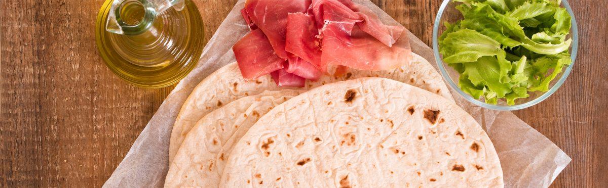 Piadina Romagnola Senza Strutto: ricetta facile e gustosa