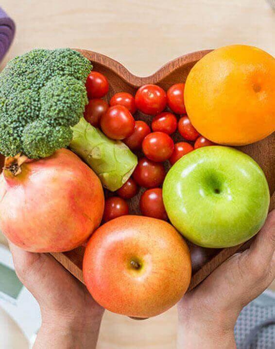 Proteggere il cuore con un'alimentazione sana!